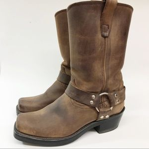 Durango Womens Harness Boot Brown Leather RD594